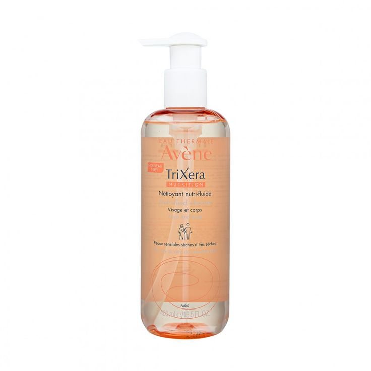 Avène Trixera Nutrition Nutri-Fluid Cleanser: Body wash for extremely dry skin from the brand that makes my all-time favorite face mist!
