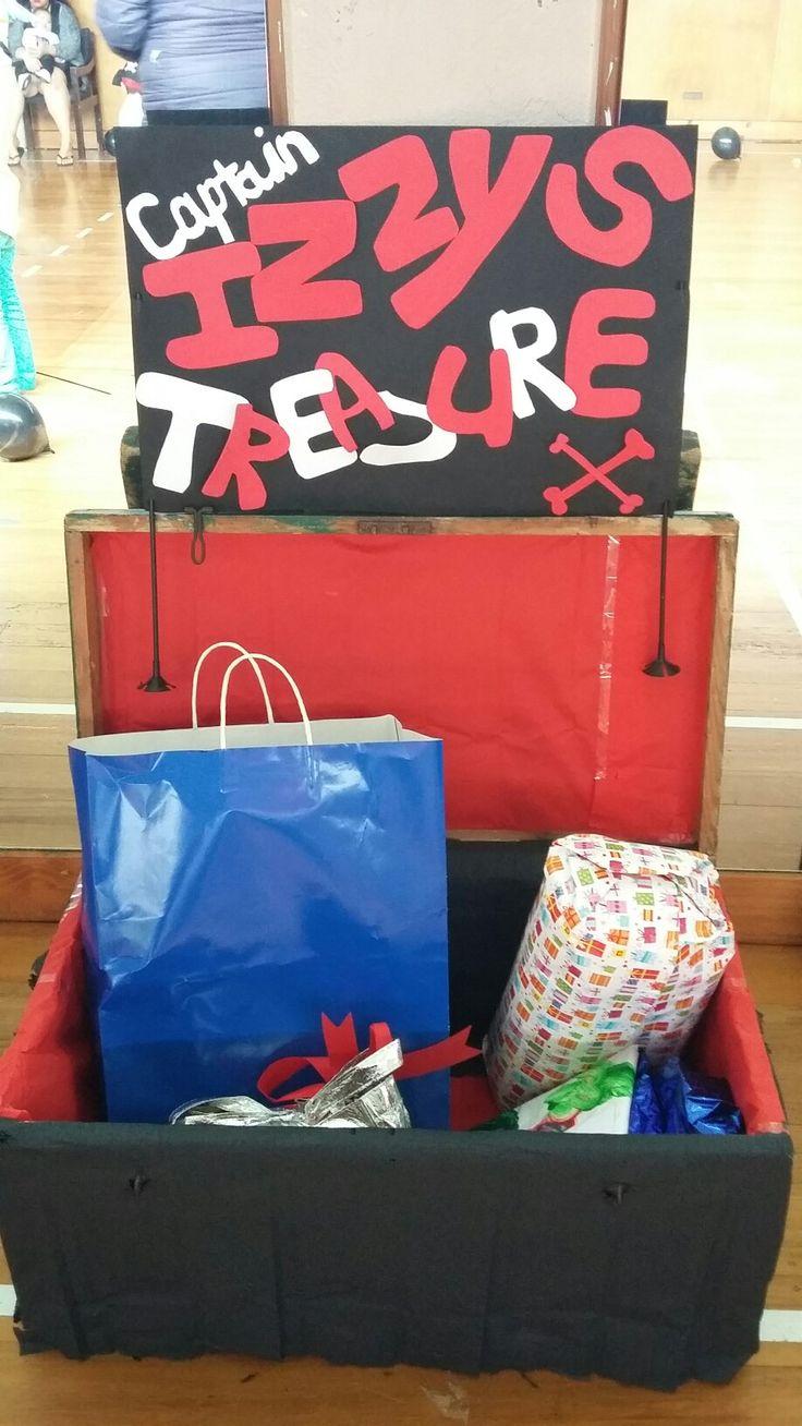Treasure chest for all the prezzies☺