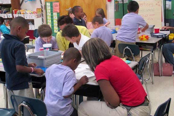 Hosting a Common Core Math Night with Free Manipulatives