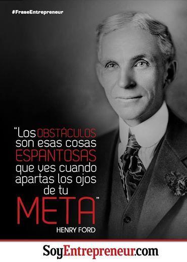Inspiradora frase de Henry Ford, empresario estadounidense famoso por su producción en serie.