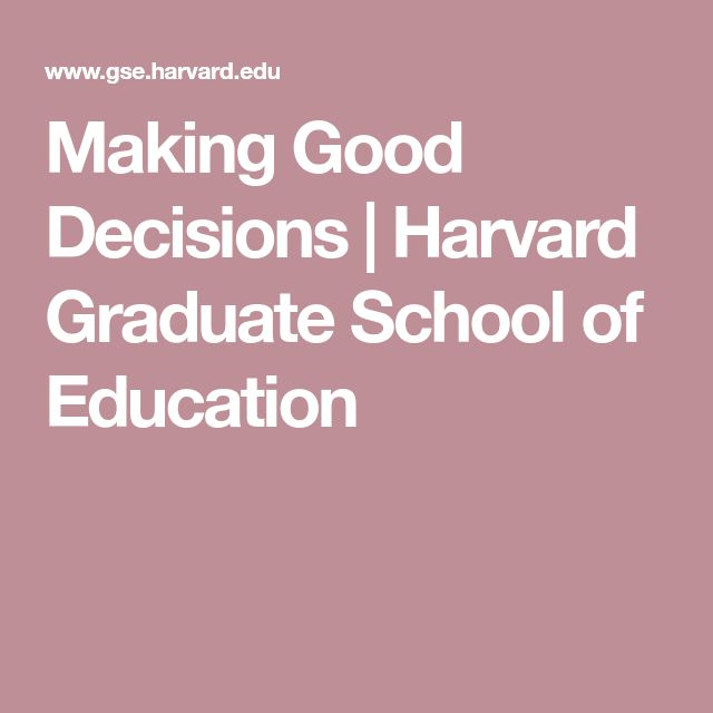 essays on making good decisions Ethical decision making calls for good leadership from principals we will write a custom essay sample on ethical decision making by school principals specifically for you for only $1638 $139/page.