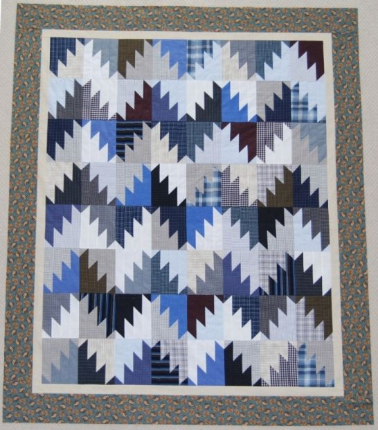 394 best Quilts: Upcycled / recycled images on Pinterest | Shirt ... : mens quilts - Adamdwight.com