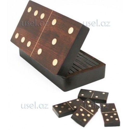 """Игра Домино """"Брамин"""" в деревянной коробке"""