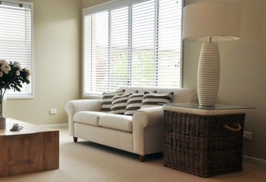 Blinds provide great space saving solutions for small rooms.