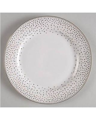 graces-teaware-metallic-gold-dots-salad-plate-fine-. Fine China DinnerwareWhite ...  sc 1 st  Pinterest & 32 best DECOR -- Gold and White China images on Pinterest | Dish ...