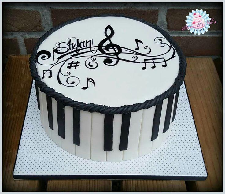 Cake Design Pianoforte : 1000+ idee su Torte A Pianoforte su Pinterest Torte di ...