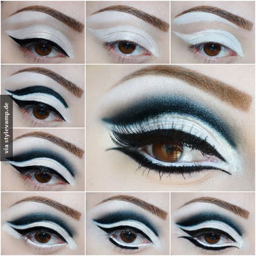 Extravagantes Augen Make-up <3