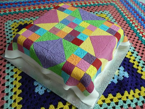 Quilt Cake by Happy Cakes, Townsville