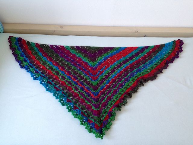 triangle scarf tryout