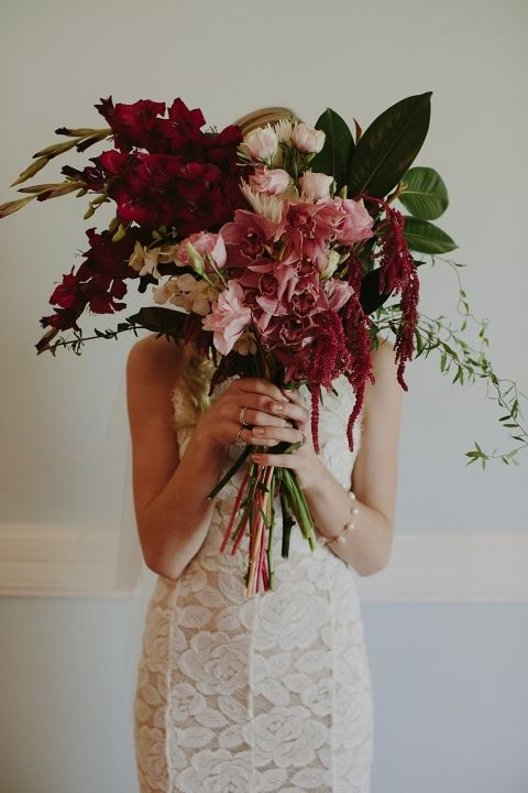 Wildflowers / Hannah & Tim's Ethereal Garden Wedding on The LANE / Photo Bek Grace