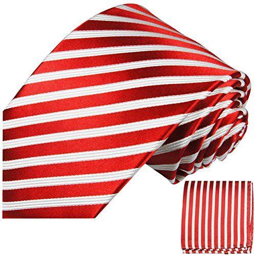 Red White Striped XL Necktie Set 2pcs. 100% Silk Tie for ... https://www.amazon.co.uk/dp/B005J492OC/ref=cm_sw_r_pi_dp_x_mj95xbF6D70AV