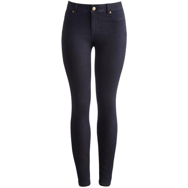 Blue Black Monroe Womens Skinny Jeans | Joules UK (£60) ❤ liked on Polyvore