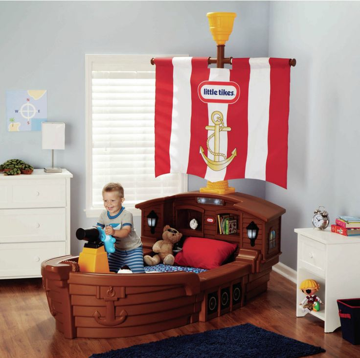 Superior Pirate Themed Bedroom Idea