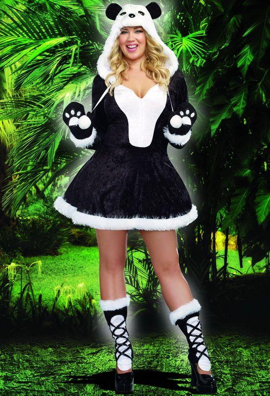 Plus Size Women's Costumes, Plus Size Panda Costumes, Plus Size Cute Costumes, Plus Size Halloween Costumes
