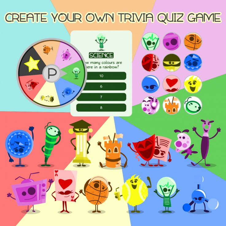 Cool Trivia Game Art - Starter Pack