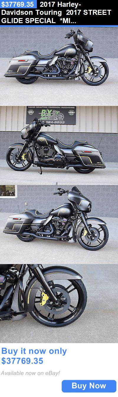 Motorcycles: 2017 Harley-Davidson Touring 2017 Street Glide Special *Mint* $18K In Xtras! M8! Race Edition! 1 Of A Kind! BUY IT NOW ONLY: $37769.35