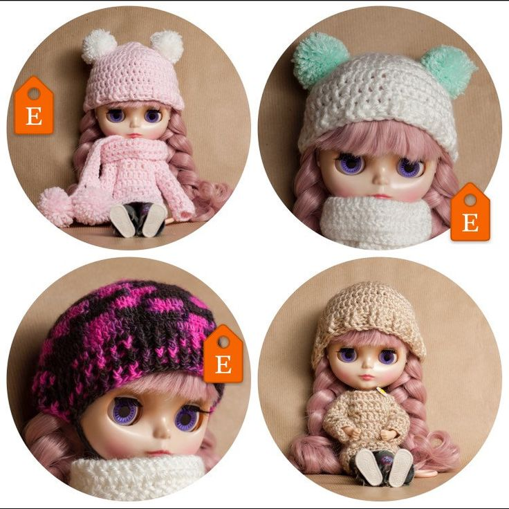 Great Blythe doll clothes ❄ winter edition outfits ❄