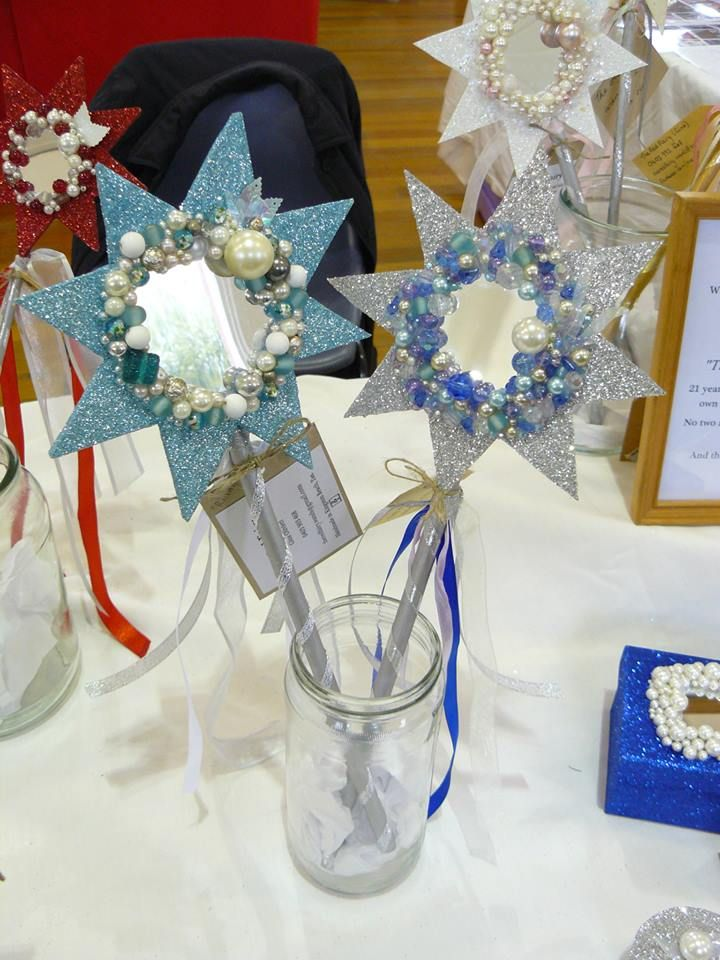 Blue wands for sea-dwelling fairies