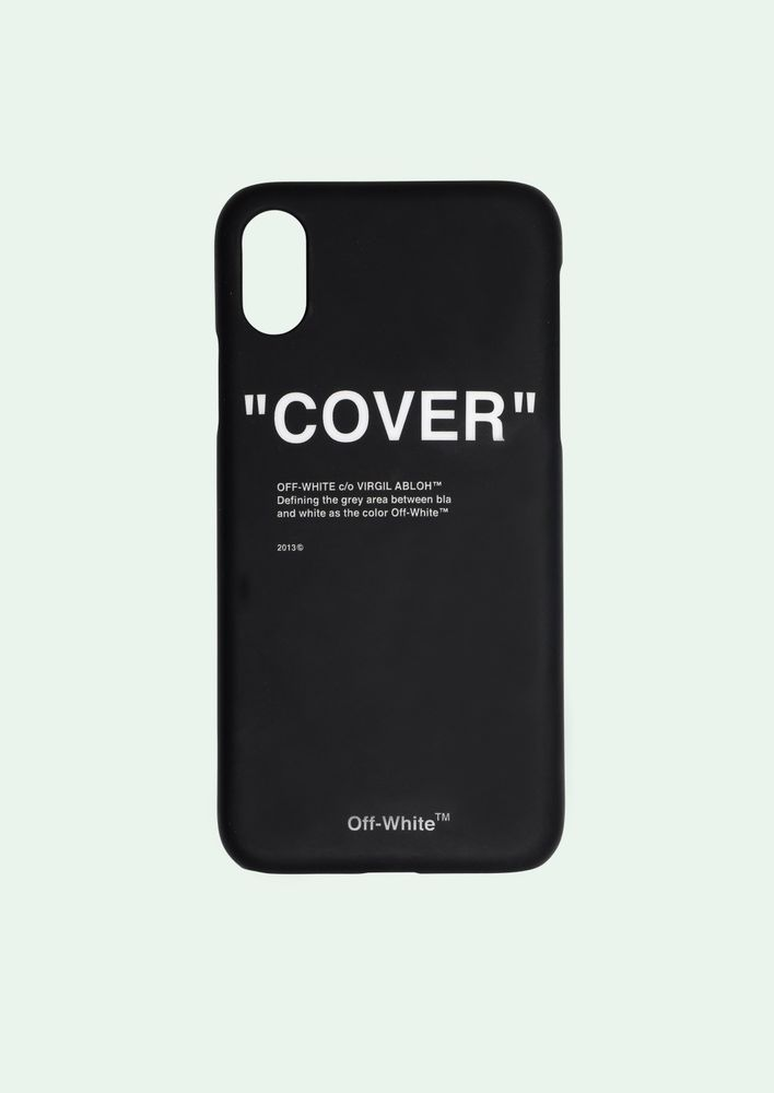 4f7f2396a13e OFF-WHITE C O VIRGIL ABLOH QUOTE IPHONE X CASE COVER FLANNEL PYREX HOODIE  BAG (eBay Link)