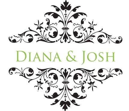 Wedding Monograms :  wedding wedding monogram graphic logo custom personalized cheap affordable diy cake inspiration ceremony invitations reception Il 430xN.94680830 Personalized Monogram - Diamond Flourish - Digital File