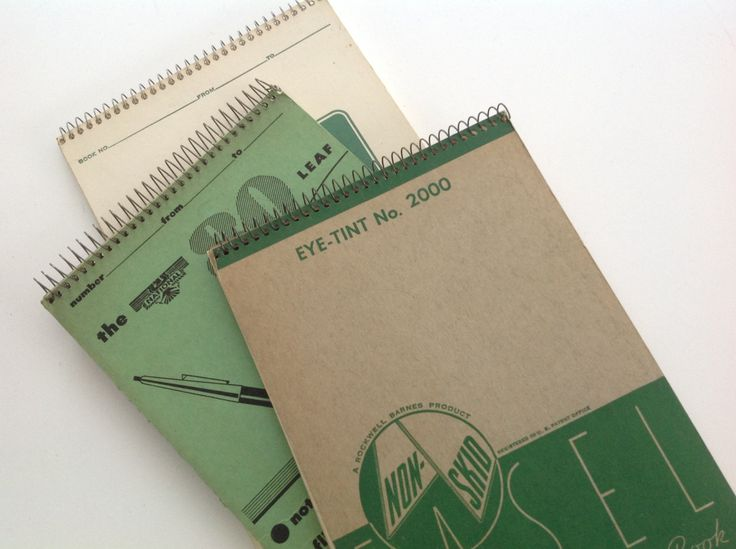 Vintage collection stenographic note book shorthand note tablet lined paper Writing tool by Hannahandhersisters on Etsy