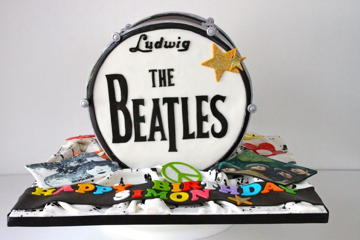 Okay, seriously now, I'm gonna stop...: Beatles Drums, Drums Cakes, Amazing Cakes, Ku Cakes, Cakes Toppers, Cakes Decor, Beatles Birthday, Cakes Order, Beatles Cakes