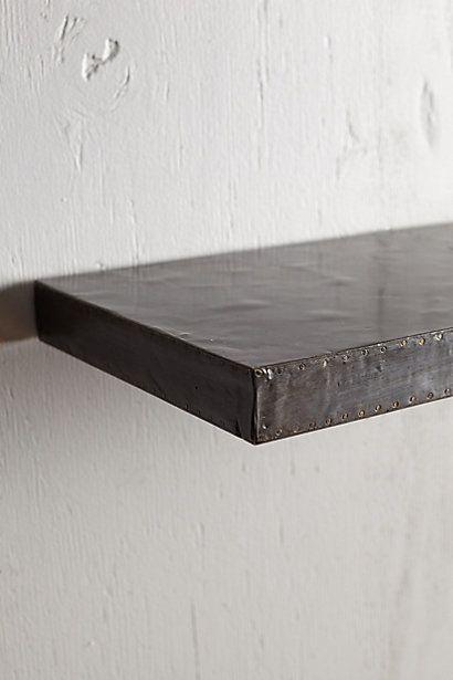 Anthropologie bedding - Zinc Floating Shelf Shelves Home And Colors
