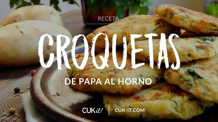 Receta de Croquetas de Papa al Horno - CUKit!
