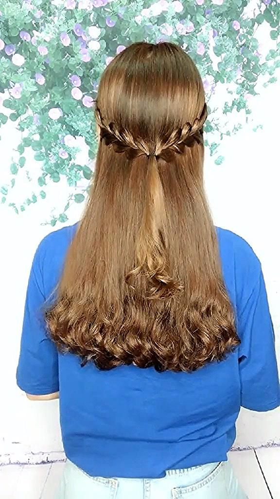 Pin By Wanda Schoen On 284 In 2020 Long Hair Styles Hair Style Vedio Easy Hairstyles For Long Hair
