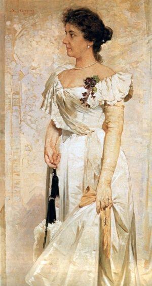 Η Κυρια Με Τα Ασπρα, Νικηφόρος Λύτρας - The Woman in White, Nikiforos Lytras
