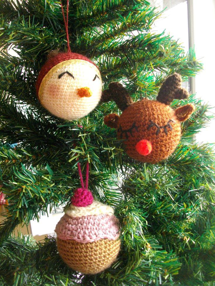 Les 25 meilleures id es de la cat gorie no l crochet sur pinterest crochet no l d co flocon - Deco au crochet ...