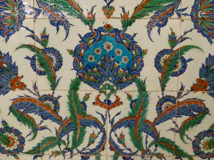 Selimiye mosque tiles