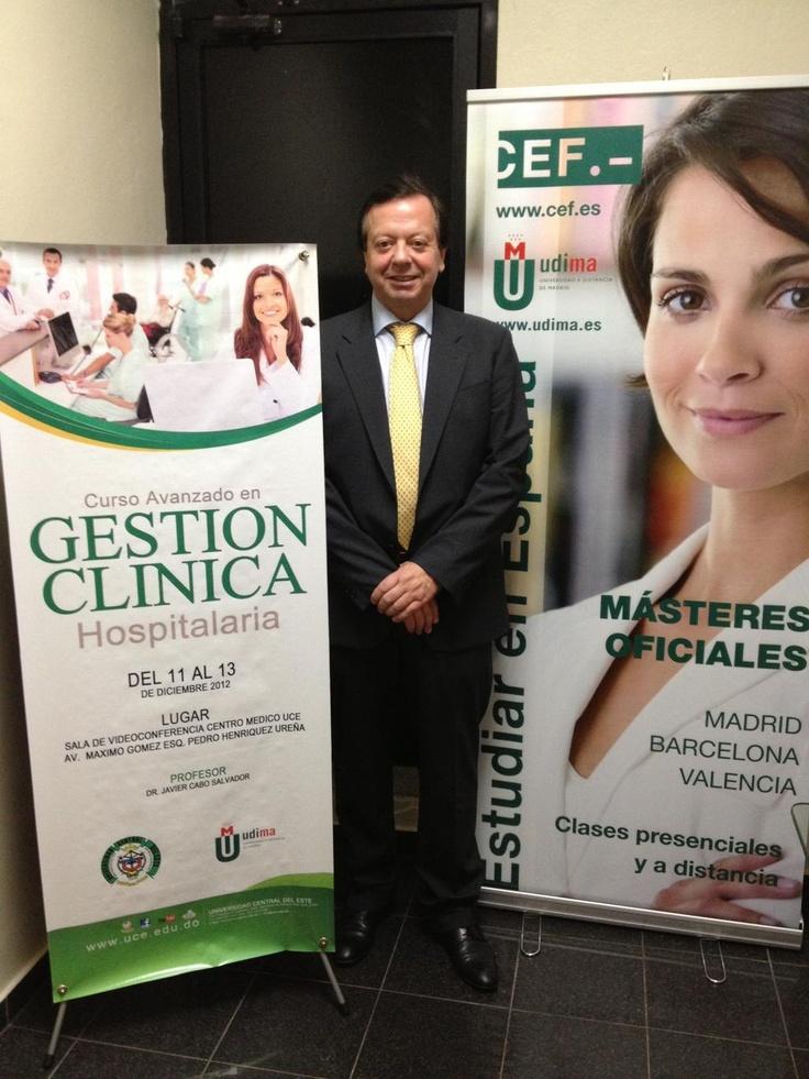El CEF.-, organiza del 11 al 13 de diciembre el Curso de Gestión Clínica Hospitalaria en la República Dominicana. http://www.cef.es/curso-Gestion-clinica-hospitalaria-republica-dominicana.html