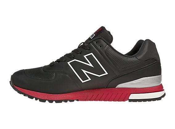new balance revlite 574 black and red