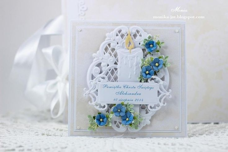 Baptism card by Monia - Cards and Paper Crafts at Splitcoaststampers