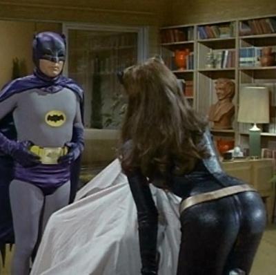 Batman y gatubela