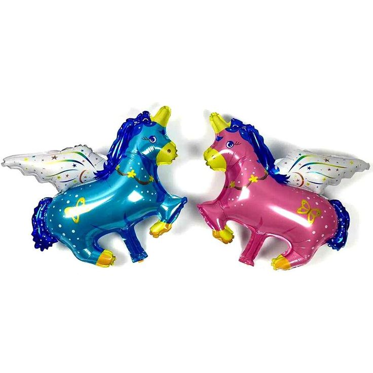 [Visit to Buy] 1 Pc 75*61cm Horse Foil Balloon Wholesale Balloons Toys Inflatable Foil Helium Party Decoration Wedding Flying Horse Balloons #Advertisement