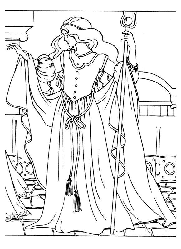IColor Princesses I Princess Coloring Pages