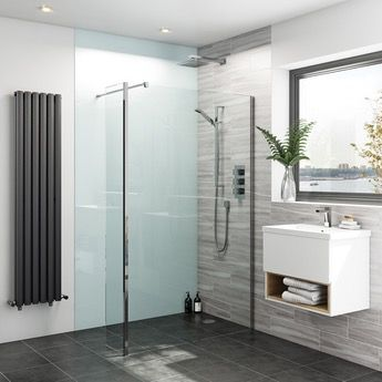 Zenolite plus air acrylic shower wall panel 2070 x 1000