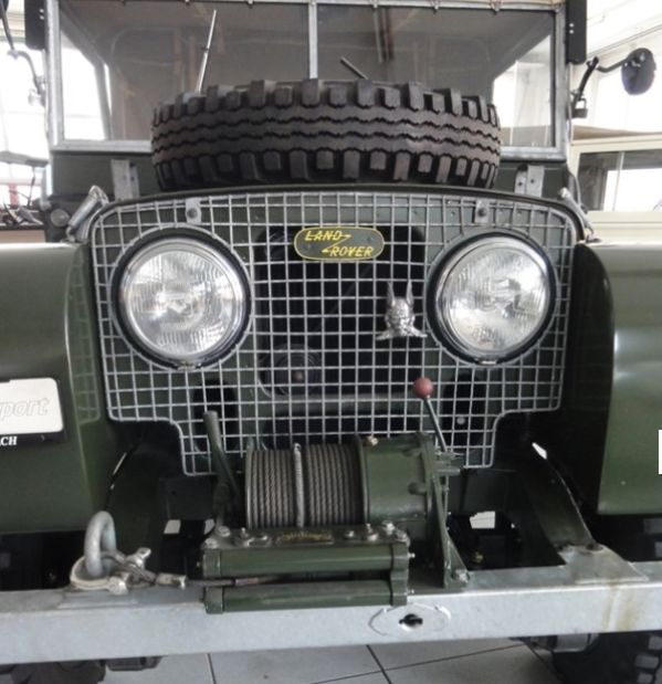 LAND ROVER 88 - 110 Serie I - 80 , Winch incl.