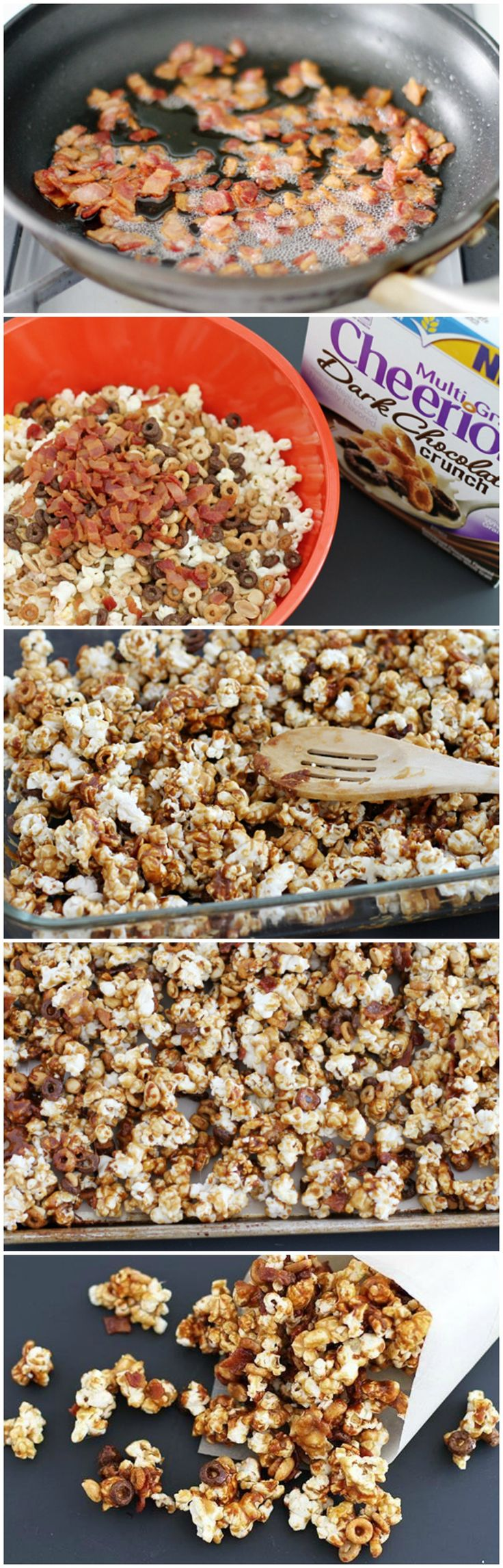 ... Bacon Popcorn on Pinterest | Popcorn, Popcorn Recipes and Popcorn