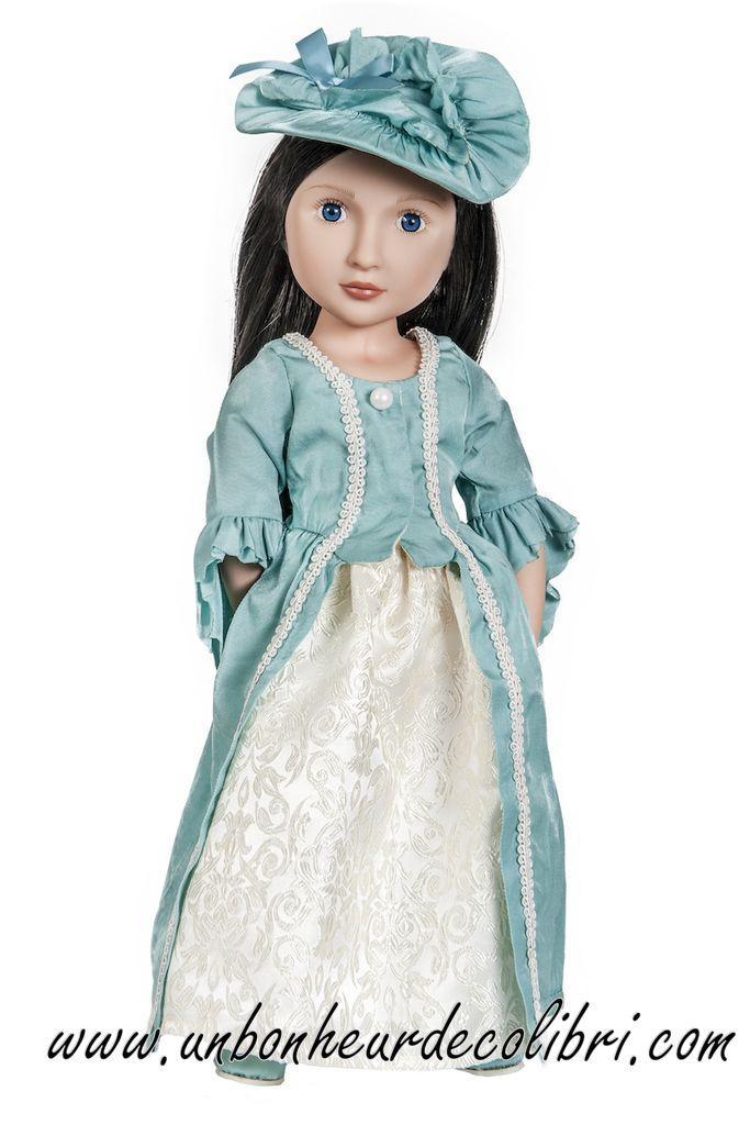 La robe de soirée de Lydia