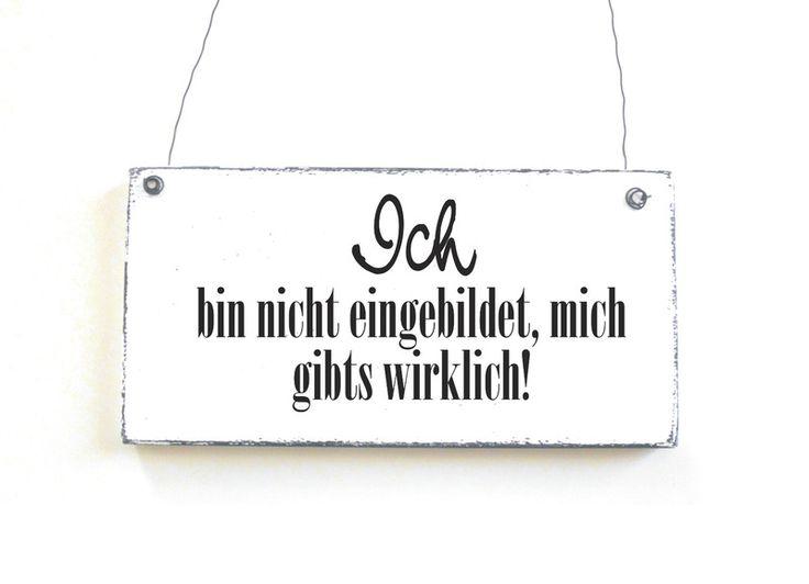 DekoschildMICHGIBTS WIRKLICH Holzschild Schild von DÖRPKIND auf www.doerpkind.de
