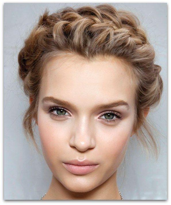 Znalezione obrazy dla zapytania naturalny makijaż ślubny