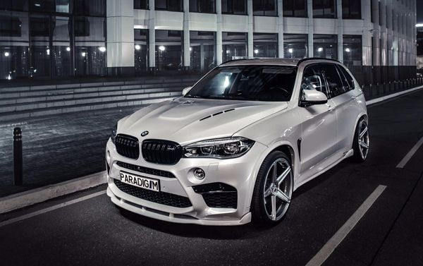 Exclusive body kit PARADIGM for BMW X5M F85: front lip, side