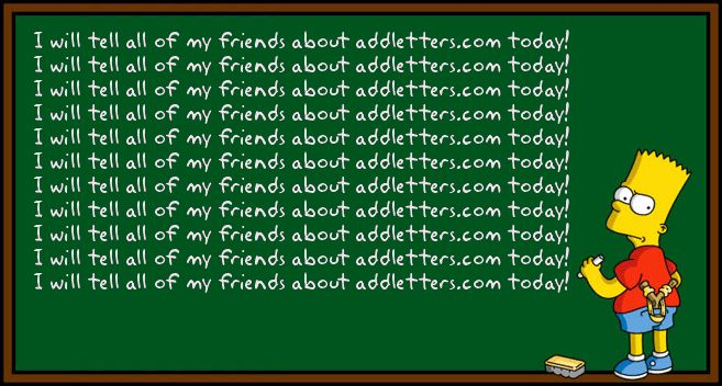 Bart Simpson Chalkboard Meme Generator | hmmm. | Pinterest