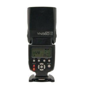 Yongnuo YN-560 II Speedlite Blitzgerät für Canon/Nikon DSLR Kamera ~ 40-50€
