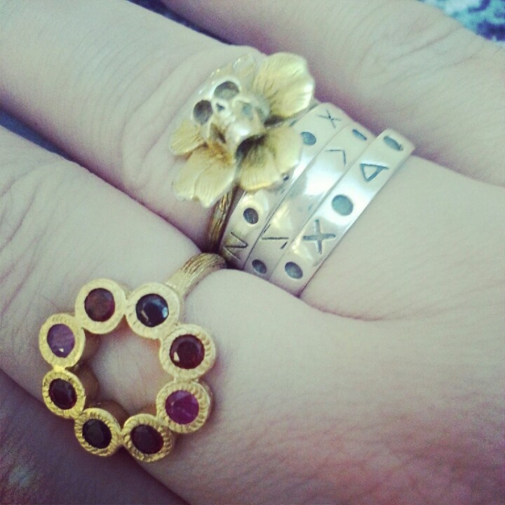 Christmas ring from my mum.