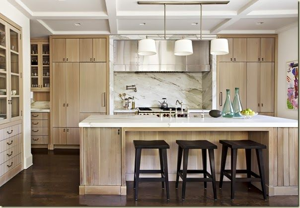 I just love the pure beauty and artistic simplicity of William Hefner's kitchen designs.