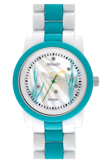 SPROUT™ Watches Diamond Dial Watch--Eco-conscious watch